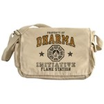 Dharma Flame Station Messenger Bag