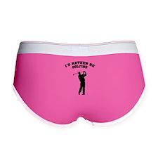 I'd rather be golfing Women's Boy Brief