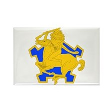 DUI - 4th Sqdrn - 9th Cavalry Regt Rectangle Magne