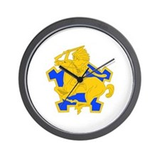 DUI - 4th Sqdrn - 9th Cavalry Regt Wall Clock