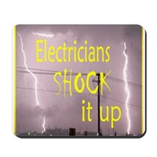 Electrician's Shock Mousepad
