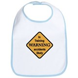 Warning-In Training Bib