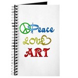 Peace Love Art Journal