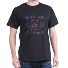 World's Greatest Big Sister (Rose) T-Shirt