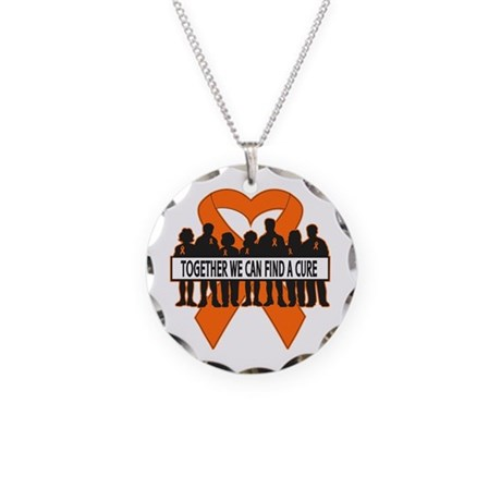 COPD Together For Cure Necklace Circle Charm