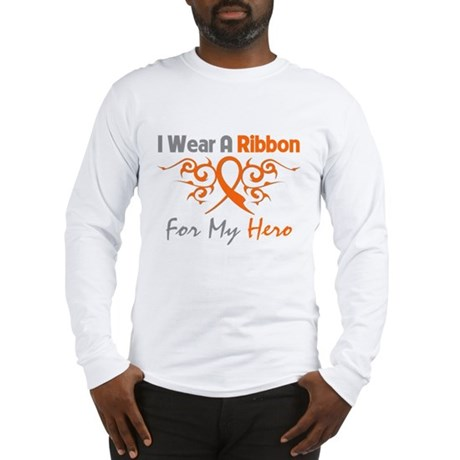 Hero Ribbon COPD Long Sleeve T-Shirt