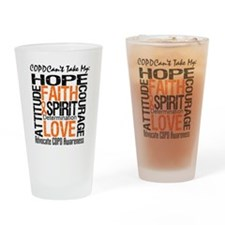 COPD Together For Cure Drinking Glass