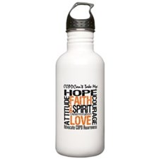 COPD Together For Cure Water Bottle