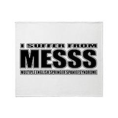 English Springer Spaniel Throw Blanket