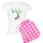 Funny Duck Duck Goose Women's Light Pajamas