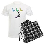 Funny Duck Duck Goose Men's Light Pajamas