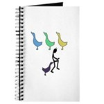 Funny Duck Duck Goose Journal