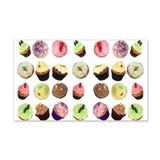 Cupcakes 22x14 Wall Peel