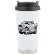 Ram White Dual Cab Ceramic Travel Mug
