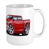 Ram Red Dual Cab Coffee Mug