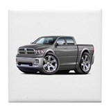 Ram Grey Dual Cab Tile Coaster
