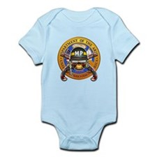 US Army Military Police Skull Infant Bodysuit