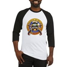 US Army Military Police Skull Baseball Jersey