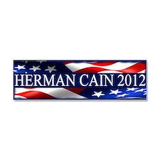 Herman Cain 2012 Car Magnet 10 x 3