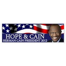 Hope & Cain Bumper Sticker