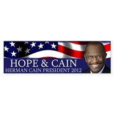 Hope & Cain Bumper Sticker