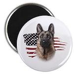 Patriotic German Shepherd 2.25