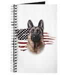 Patriotic German Shepherd Journal