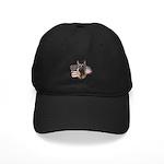 Patriotic German Shepherd Black Cap
