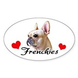 Love Frenchies - Creme Decal
