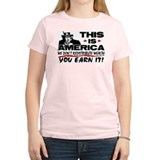 """This Is America!"" Women's Color T-Shirt"