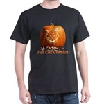 FatCat Pumpkin Dark T-Shirt