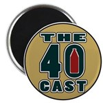 The40cast Round Magnet