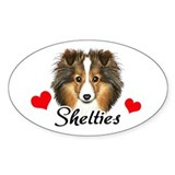 Love Shelties Decal