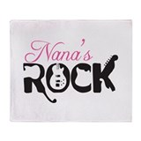 Nana's Rock Throw Blanket