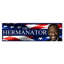 The Hermanator Bumper Sticker