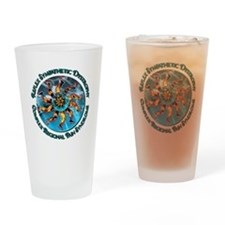 CRPS Hand & Leg Starburst Circlet Drinking Glass