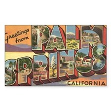 Greetings from Palm Springs Decal