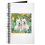 CUSTOM-Irises - 2 Westies Journal