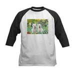 CUSTOM-Irises - 2 Westies Kids Baseball Jersey