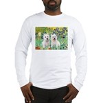 CUSTOM-Irises - 2 Westies Long Sleeve T-Shirt