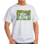 CUSTOM-Irises - 2 Westies Light T-Shirt