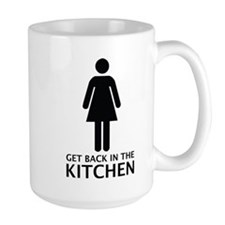 Get Back In The Kitchen Mug