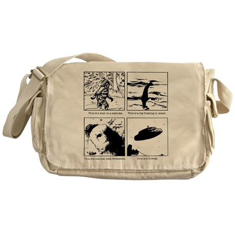 This is a... Messenger Bag