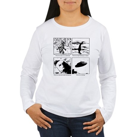 This is a... Women's Long Sleeve T-Shirt