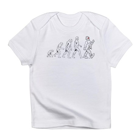 Clown Evolution Infant T-Shirt