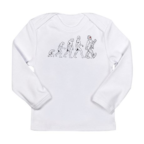 Clown Evolution Long Sleeve Infant T-Shirt