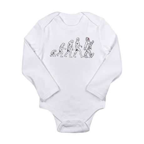 Clown Evolution Long Sleeve Infant Bodysuit