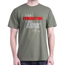 A POWERLIFTING THING Black T-Shirt