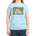 Irises-Westies 3and11 Women's Light T-Shirt
