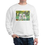 Irises-Westies 3and11 Sweatshirt